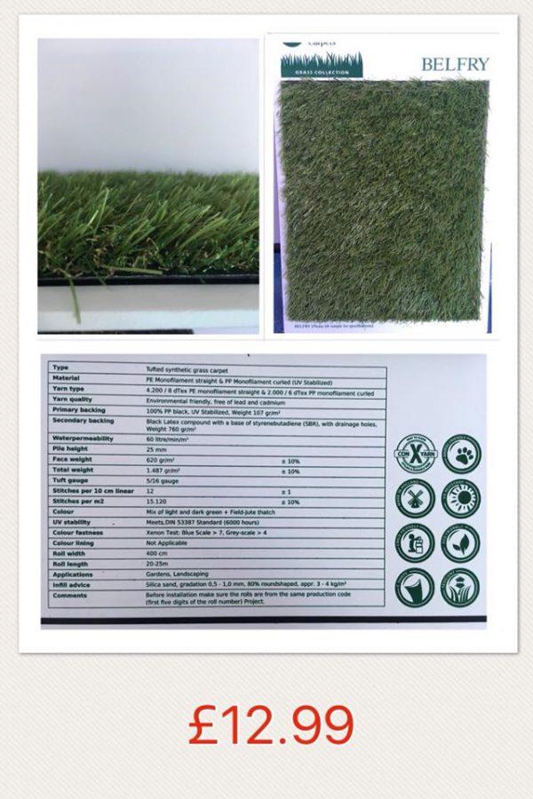 Belfry Artificial Grass
