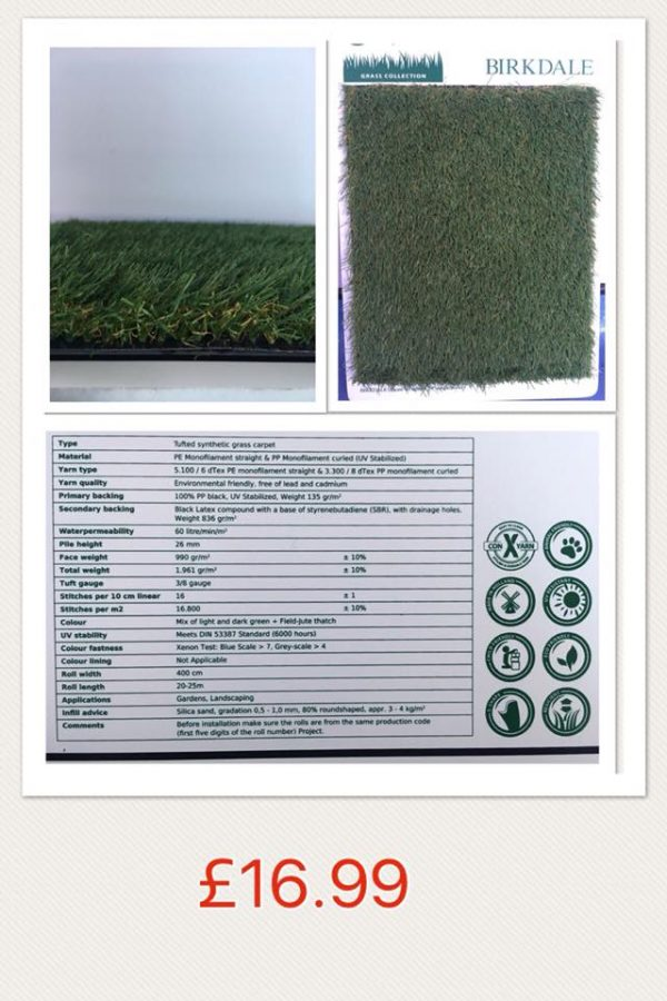 Birkdale Artificial Grass