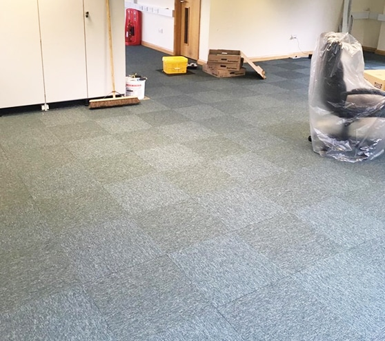 Office flooring Hampshire