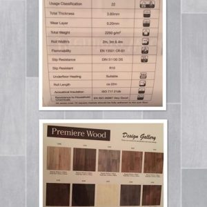 Premiere Wood vinyl floor covering Southampton