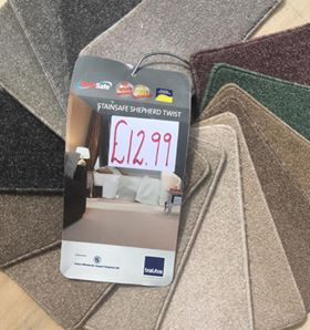 Stain Safe Twist carpet Southampton