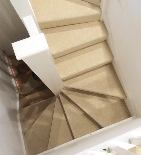 Stair carpet fitting Hampshire