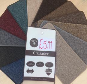 Value Crusader carpet Southampton