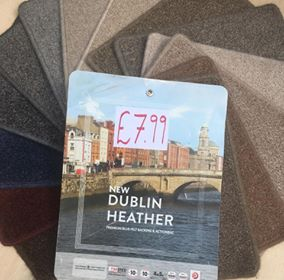 Value Dublin Heather carpet Southampton