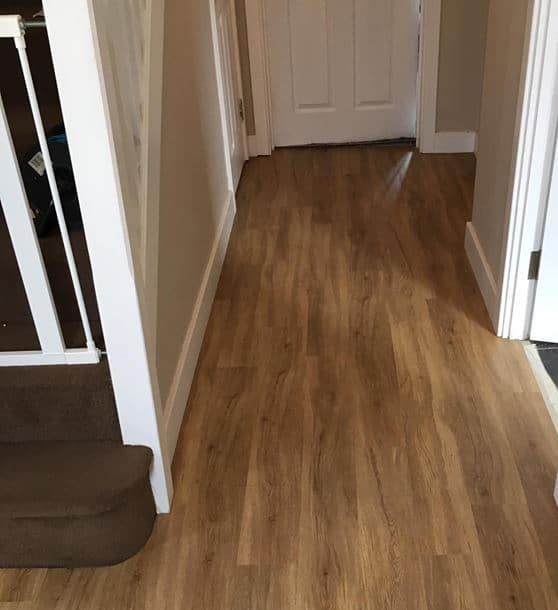 Wood effect vinyl installation Southampton