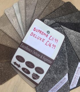 excellence supreme delux carpet suppliers southampton
