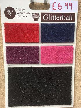 glitter carpet supliers southampton